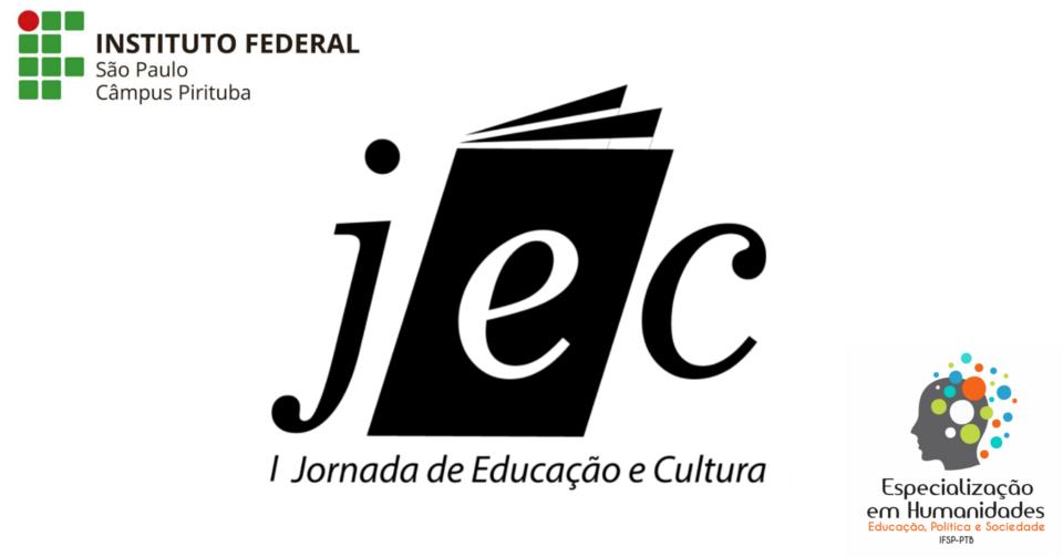 Inscrições abertas para a I Jornada de Educação e Cultura