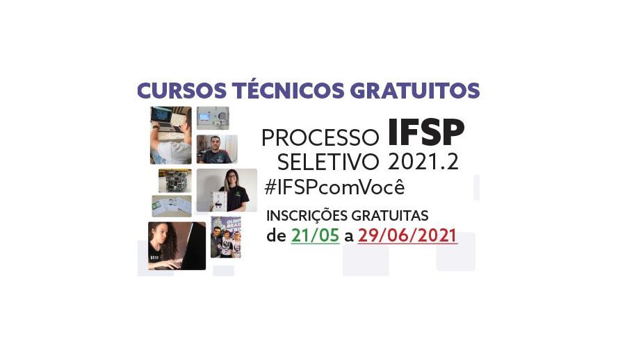Processo Seletivo 2021/2: inscrições abertas