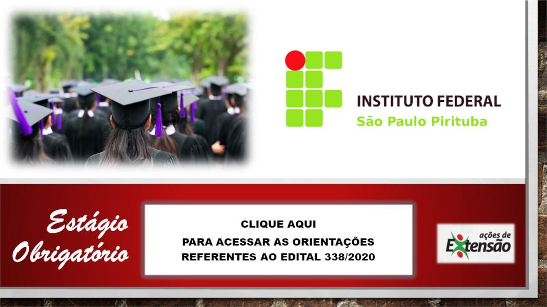 Estágio Obrigatório nos Campus do IFSP