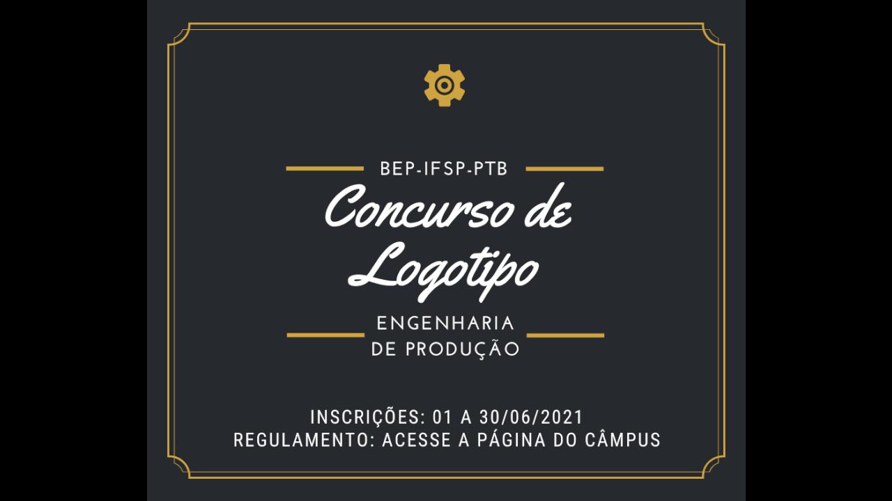 Concurso de Logotipo do curso de Engenharia de Produção